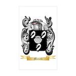 Micieli Sticker (Rectangle 50 pk)