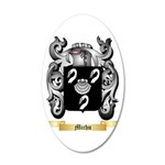 Michu 35x21 Oval Wall Decal