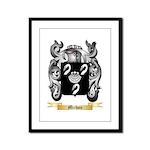 Michou Framed Panel Print