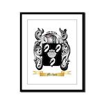 Michon Framed Panel Print