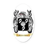 Michniewicz Oval Car Magnet