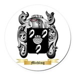Michling Round Car Magnet