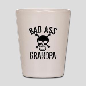 Bad Ass Grandpa Shot Glass