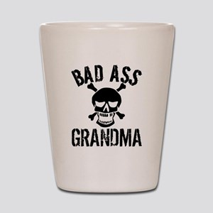Bad Ass Grandma Shot Glass