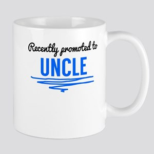 Recently Promoted To Uncle Mugs