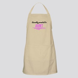 Recently Promoted To Aunt Apron