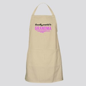 Recently Promoted To Grandma Apron