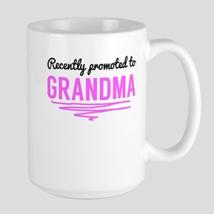 Recently Promoted To Grandma Mugs