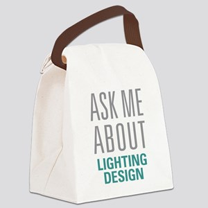 Lighting Design Canvas Lunch Bag