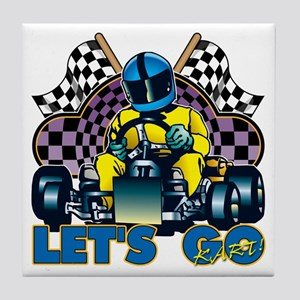Let's Go Kart! Tile Coaster