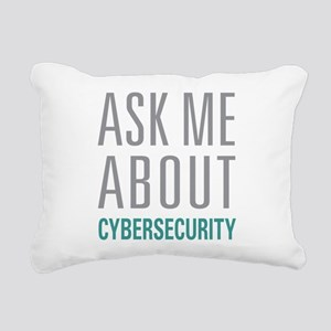 Cybersecurity Rectangular Canvas Pillow