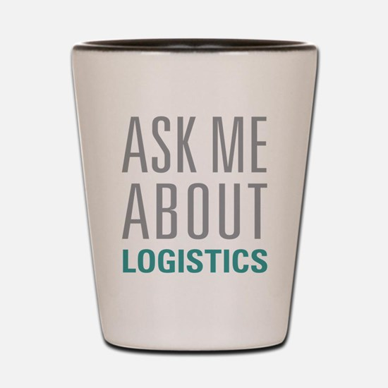 Logistics Shot Glass