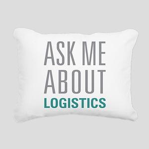 Logistics Rectangular Canvas Pillow