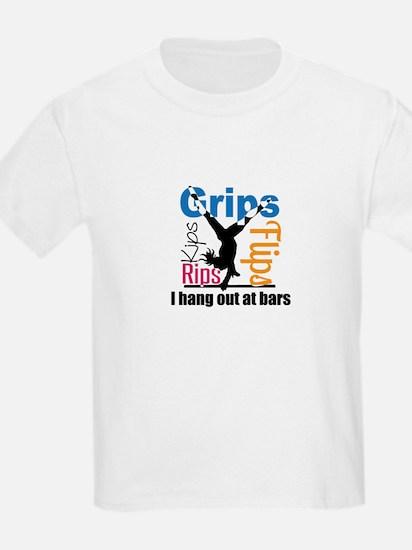 Gymnast on Bars T-Shirt