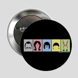 "Bob's Burgers Silhouettes 2.25"" Button"