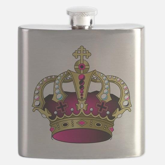 Unique King diamonds Flask