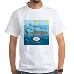 Whale Shark Thoughts White T-Shirt