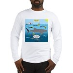 Whale Shark Thoughts Long Sleeve T-Shirt