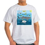 Whale Shark Thoughts Light T-Shirt