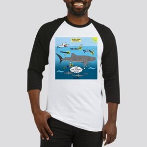 Whale Shark Thoughts Baseball Jersey