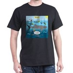 Whale Shark Thoughts Dark T-Shirt