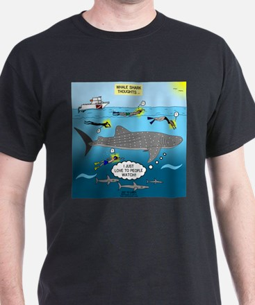 Whale Shark Thoughts T-Shirt