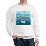 Whale Shark Thoughts Sweatshirt