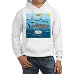Whale Shark Thoughts Hooded Sweatshirt
