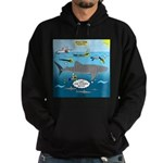 Whale Shark Thoughts Hoodie (dark)