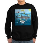 Whale Shark Thoughts Sweatshirt (dark)