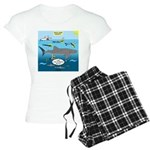 Whale Shark Thoughts Women's Light Pajamas
