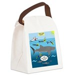 Whale Shark Thoughts Canvas Lunch Bag