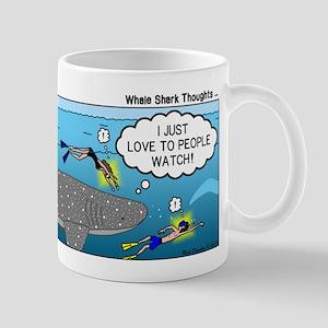 Whale Shark Thoughts Mug