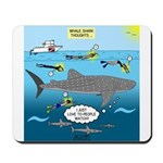 Whale Shark Thoughts Mousepad
