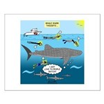 Whale Shark Thoughts Small Poster
