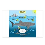 Whale Shark Thoughts Postcards (Package of 8)