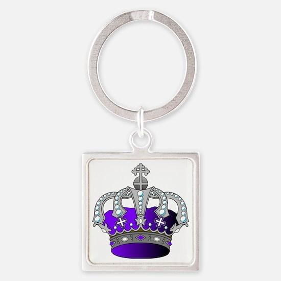 Cute Royal Square Keychain