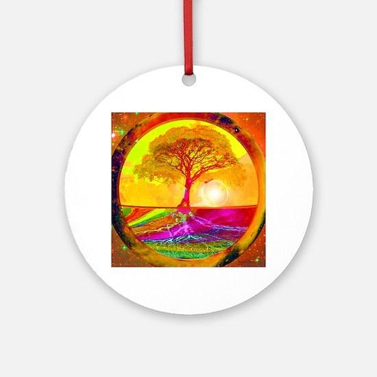 Healing Round Ornament