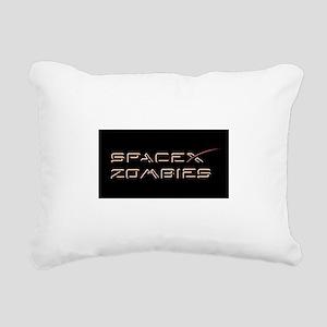 Space Zombie Rectangular Canvas Pillow