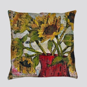 Beethoven Bouquet Everyday Pillow