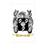 Michlik Sticker (Rectangle 50 pk)