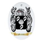 Michlik Oval Ornament
