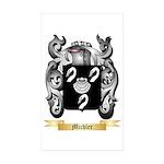 Michler Sticker (Rectangle 50 pk)