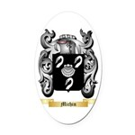 Michin Oval Car Magnet