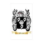 Michin Sticker (Rectangle 50 pk)
