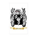 Michils Sticker (Rectangle 50 pk)