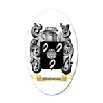 Michielson 20x12 Oval Wall Decal