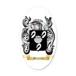 Michiels Oval Car Magnet
