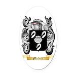 Michieli Oval Car Magnet