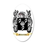 Michieletto 35x21 Oval Wall Decal